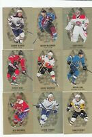 2019-20 UD TIM HORTONS GOLD ETCHING COMPLETE SET OF 10 CARDS