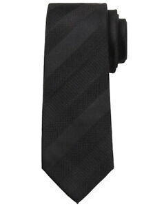 NWT Banana Republic New $59.50 Men Textured Stripe Silk Nanotex Tie