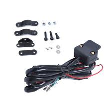 3 Meters Black ATV/UTV Winch Rocker Switch Handlebar Control Line Warn Accessory