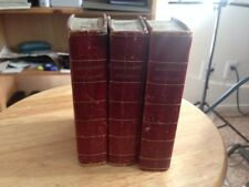 Geographical Dictionary Set - W. Peacock and Sons, London 1804 - Three Books