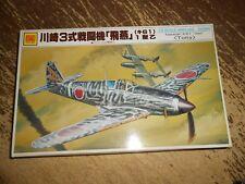 Otaki Kawasaki Ki61 Hien Tony Airplane Model Unstarted in Open Box 1/48
