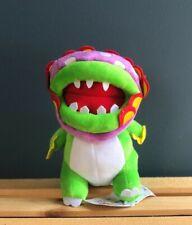 "Super Mario Bros. Character Petey Dino Piranha Flower Plush Doll Toy Gift 9"""