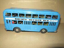 553K Jouet Tôle à Friction MF185 Bus Double Decker Bleu