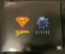 Neca Superman VS Alien and Batman VS Predator Action Figure Sets