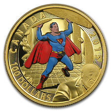2015 Canada Proof Gold Iconic Superman™ Comic Book Covers (#4) - SKU #90714