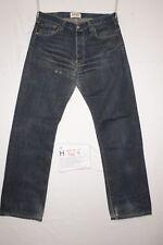 Levi's 501(Cod. H727) Tg48 W34 L36 orlo rifatto  jeans usato limited edition