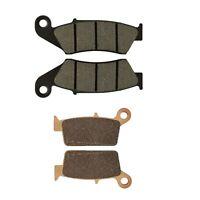 Brake Pads Front Rear Kit For Kawasaki KX250F KX450F KLX450R Suzuki RM-Z 250 450
