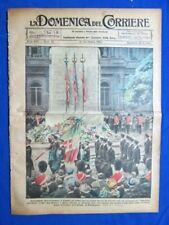 La Domenica del Corriere 22 ottobre 1922 Milite Ignoto - Catford - S. de Masi