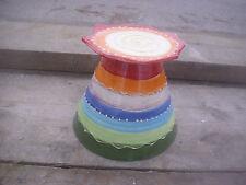 Deko-Kerzenständer & -Teelichthalter aus Keramik mit Haus-Form