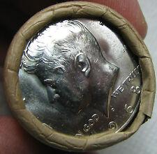 New listing 1968 D Obw Original Bank Wrap Roll Bu Uncirculated Silver Kennedy Half Dollars