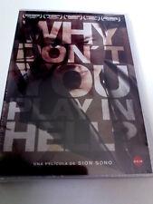 "DVD ""WHY DON'T YOU PLAY IN HELL ?"" PRECINTADO SEALED SION SONO JUN KUNIMURA"