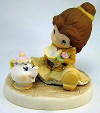 Precious Moments Disney You Are So Tea-Lightful Belle with Teacup  Teapot