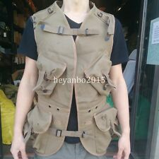 WW2 US ARMY SLEEVELESS FORCE EMERGENCY Assaultvest TACTICAL VEST -SIZE L