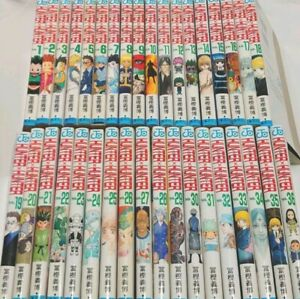 Hunter x Hunter manga Vol.1-36 Complete Set Comic anime Yoshihiro Togashi book