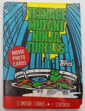 1990 Topps Teenage Mutant Ninja Turtles Trading Cards 3packs