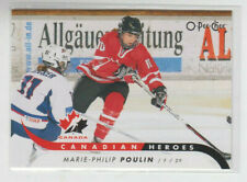 09/10 OPC Team Canada Marie-Philip Poulin Canadian Heroes card #CB-MP