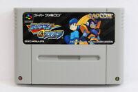 Rockman & Forte Mega Man Bass SFC Nintendo Super Famicom SNES Japan Import I5291