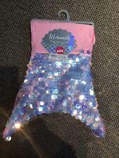 Sequin Mermaid Tail Blanket Pink Brand New