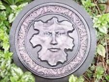 leaf face concrete plaster casting mold abs plastic mold