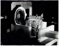 3 Photos Georges Bru - Recherche sur les lasers - Montage - 1960 -