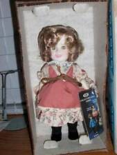 """Ideal ~ Vintage 1982 Vinyl Suzannah Mounties Shirley Temple 8"""" Doll"""