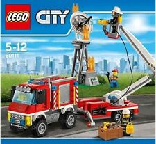 Lego city Camion d'intervention des pompiers 60111 - Jeu de constuction LEGO **
