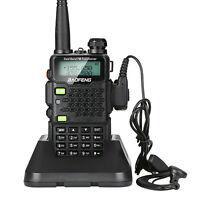 BAOFENG UV-5R5 Walkie Talkie VHF/UHF Dual Band Two Way Ham Radio Transceiver