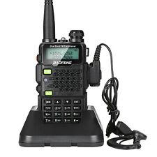 BAOFENG UV-5R5 Waterproof Walkie Talkie UHF/VHF Radio Transceiver LED Flashlight