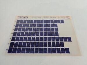 Microfiche Catalogue des Pièces Roth Toro Chasse-Neige 521/521 E+