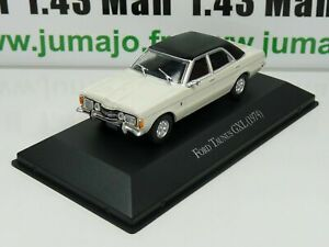 ARG23G Voiture 1/43 SALVAT Autos Inolvidables: Ford Taunus GXL (1974)