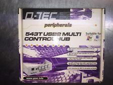 5.25inch Bay Mount Multi Function (USB2 Hub,Card Reader,Fan Control) Q-Tec 543T