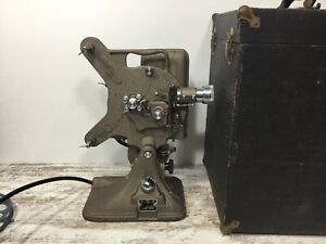 Vintage Keystone Model A-82 16mm Movie Projector w/Case