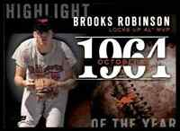 2015 TOPPS SERIES 2 HIGHLIGHT OF THE YEAR BROOKS ROBINSON #H-14 INSERT