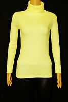 NEW WOMEN LADIES RIBBED POLO ROLL HIGH NECK STRETCH JUMPER TOP SIZE 6,8-10,12-14