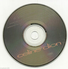 "Rare CELINE DION ""If You Asked me To"" 1 track PROMO DJ CD ESK74277"