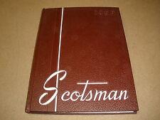1955 Alma College alma michigan School YEARBOOK