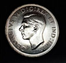 Canada/ 1 Dollar 1947/ KM-37/ Excellent Condition/ SILVER COIN