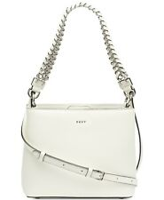 DKNY Bethune Bucket Crossbody Bag, White $228