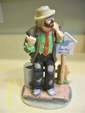 "Flambo 10 1/2"" Emmett Kelly, Jr. Collection On The Road Again - #5413 of 9500"