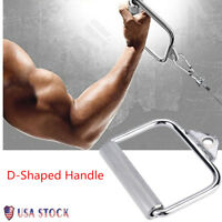 High Strength Single D-Handle Cable Attachments For Home Gym Fitness Training US