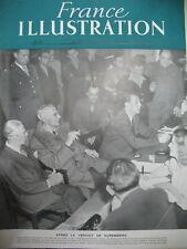 54 NUREMBERG VERDICT VON PAPEN NOUVELLE CONSTITUTION FRANCE ILLUSTRATION 1946