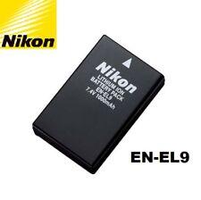 New Genuine Orginal OEM Nikon D40 D40x D60 D3000 D5000 EN-EL9 Battery