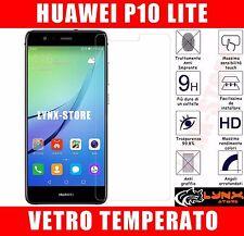 Pellicola in VETRO temperato per HUAWEI P10 Lite 0.26mm ANTIURTO oleofobica LCD