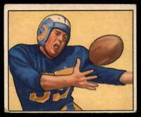 1950 Bowman #51 Tom Fears LA Rams VG/EX Very Good/Excellent (RC - Rookie Card)