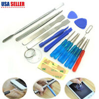 18PCS Cell Phone Repair Opening Pry Tools Set Kit Spudger Tweezer For iPhone USA