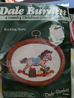Dale Burdett A Country Christmas Cross Stitch Kit & Frame  Rocking Horse CCK128