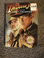 Indiana Jones and the Last Crusade Dvd W/Slip Harrison Ford,Sean Connery New!