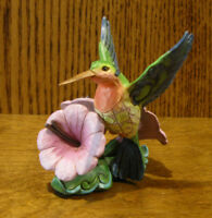 Jim Shore Heartwood Creek Mini's #6000680 HUMMINGBIRD, New From Retail Store 3""