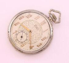 GRUEN Semi Thin 758 vintage Swiss made pocket watch, 14K gold filled, 15 jewels