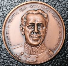 1959-1967 GEORGES P. VANIER 19th GOVERNOR GENERAL OF CANADA MEDAL - Huge
